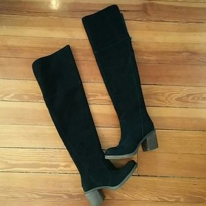 Lucky brand over the knee boots NWOT